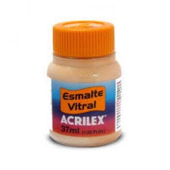 ESMALTE VITRAL ACRILEX 37 ML 538-AMARELO PELE