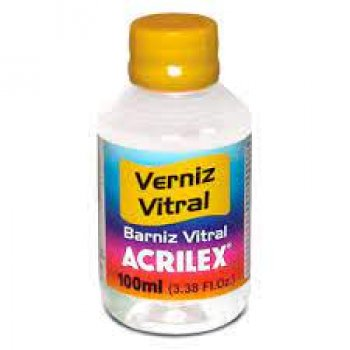 VERNIZ VITRAL ACRILEX FOSCO 100 ML 806 INCOLOR
