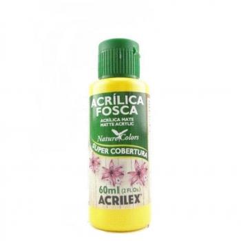 TINTA ACRILEX  ACRIL.FOSCA 60 ML 505 AMARELO OURO