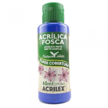 TINTA ACRILEX  ACRIL.FOSCA 60 ML 578 AZUL INTENSO