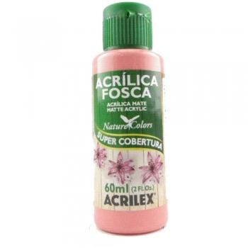 TINTA ACRILEX  ACRIL.FOSCA 60 ML 828 ROSA ANTIGO