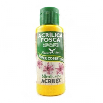 TINTA ACRILEX  ACRIL.FOSCA 60 ML 536 AM CADMIO