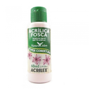 TINTA ACRILEX  ACRIL.FOSCA 60 ML 894 ROSA COTTON
