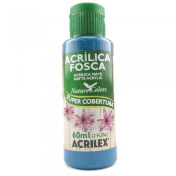 TINTA ACRILEX  ACRIL.FOSCA 60 ML 823 AZUL PISCINA