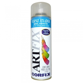 VERNIZ SPRAY ARTFIX BRILHANTE 300 ML