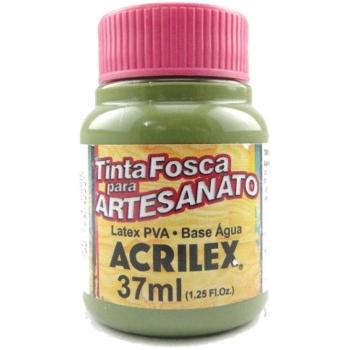 TINTA ACRILEX FOSCA P/ARTES. 37 ML 545-VD OLIVA