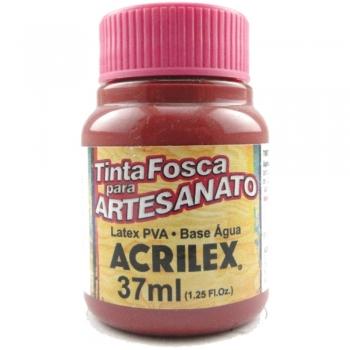TINTA ACRILEX FOSCA P/ARTES. 37 ML 565-VINHO