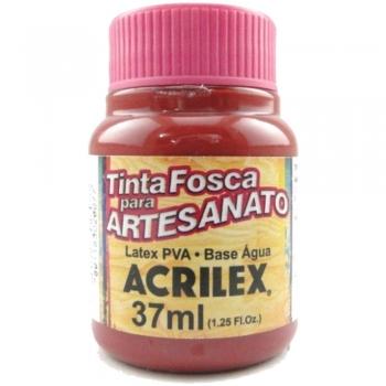 TINTA ACRILEX FOSCA P/ARTES. 37 ML 826-CEREJA