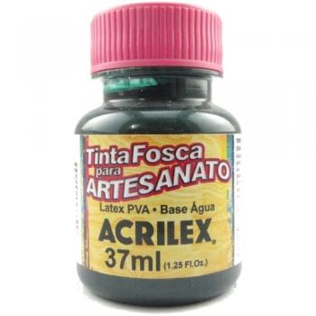TINTA ACRILEX FOSCA P/ARTES. 37 ML 571-VD ESMERALD