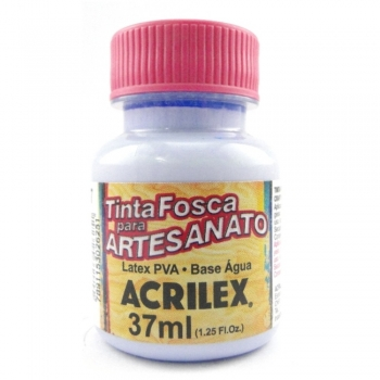 TINTA ACRILEX FOSCA P/ARTES. 37 ML 587-LAVANDA