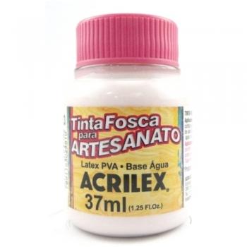 TINTA ACRILEX FOSCA P/ARTES. 37 ML 813-ROSA BEBE