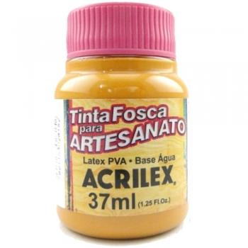 TINTA ACRILEX FOSCA P/ARTES. 37 ML 831-AMENDOA
