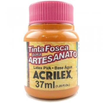TINTA ACRILEX FOSCA P/ARTES. 37 ML 832-LARANJA ESC