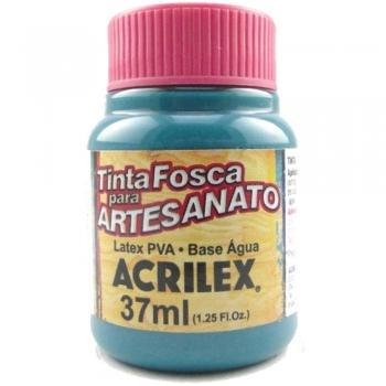 TINTA ACRILEX FOSCA P/ARTES. 37 ML 558 VERDE VIVO