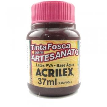 TINTA ACRILEX FOSCA P/ARTES. 37 ML 595 BORDEAUX