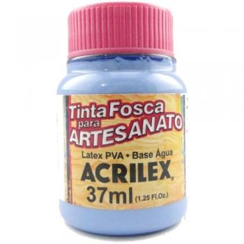 TINTA ACRILEX FOSCA P/ARTES. 37 ML 584 AZUL INVERN