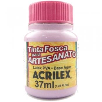 TINTA ACRILEX FOSCA P/ARTES. 37 ML 915 ORQUIDIA