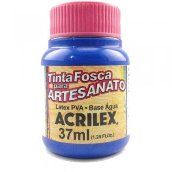 TINTA ACRILEX FOSCA P/ARTES. 37 ML 501-AZ TURQUEZA