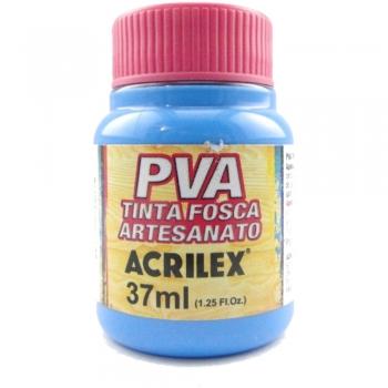 TINTA ACRILEX FOSCA P/ARTES. 37 ML 503-AZUL CELEST