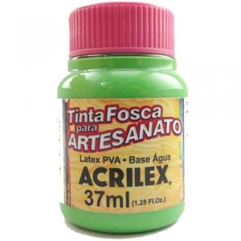 TINTA ACRILEX FOSCA P/ARTES. 37 ML 510-VERDE FOLHA