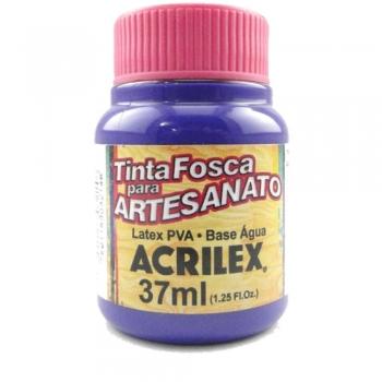 TINTA ACRILEX FOSCA P/ARTES. 37 ML 516-VIOLETA