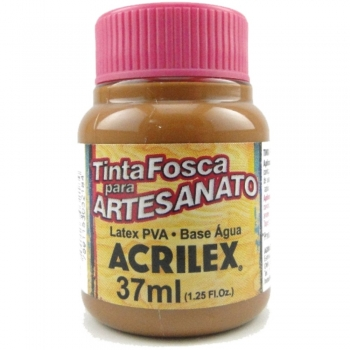 TINTA ACRILEX FOSCA P/ARTES. 37 ML 531-MARROM