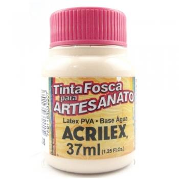TINTA ACRILEX FOSCA P/ARTES. 37 ML 538-AM. PELE