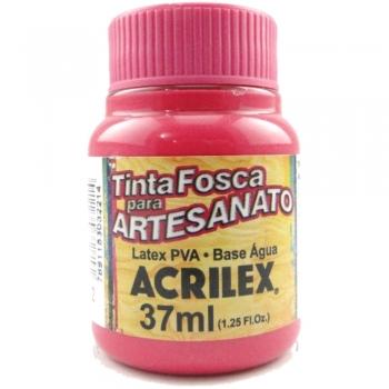 TINTA ACRILEX FOSCA P/ARTES. 37 ML 542-ROSA ESCURO