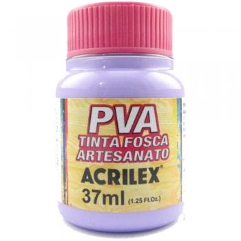 TINTA ACRILEX FOSCA P/ARTES. 37 ML 528-LILAS