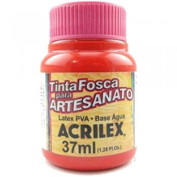 TINTA ACRILEX FOSCA P/ARTES. 37 ML 541 VERM. VIVO