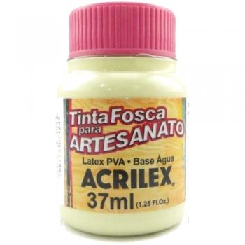 TINTA ACRILEX FOSCA P/ARTES. 37ML 898 VERDE ALECR