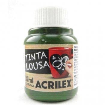 TINTA LOUSA 37 ML ACRILEX 524 VERDE