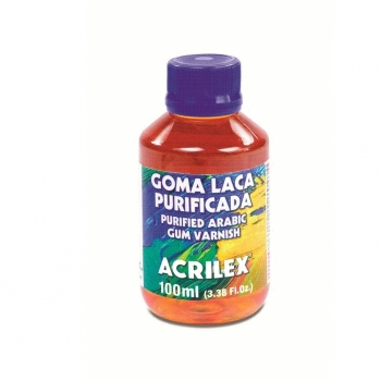 GOMA LACA PURIFICADA ACRILEX 100 ML