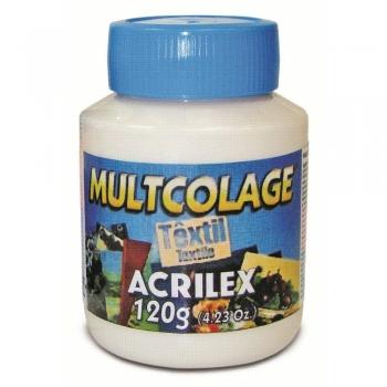 MULTCOLAGE TEXTIL ACRILEX 120 ML