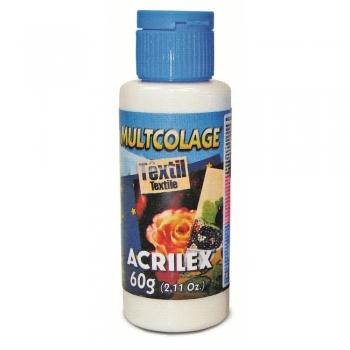 MULTCOLAGE TEXTIL 60G ACRILEX