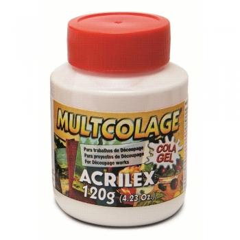 MULTCOLAGE ACRILEX 120 GR