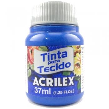 TINTA TECIDO FOSCA ACRILEX 37 ML 501 AZ.TURQUEZA