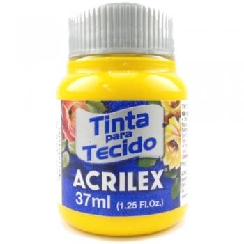 TINTA TECIDO FOSCA ACRILEX 37 ML 505-AM.OURO