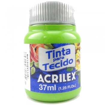 TINTA TECIDO FOSCA ACRILEX 37 ML 510-VD.FOLHA