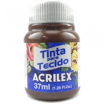 TINTA TECIDO FOSCA ACRILEX 37 ML 514 TERR.QUEIMADA