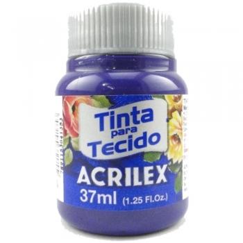 TINTA TECIDO FOSCA ACRILEX 37 ML 516 VIOLETA