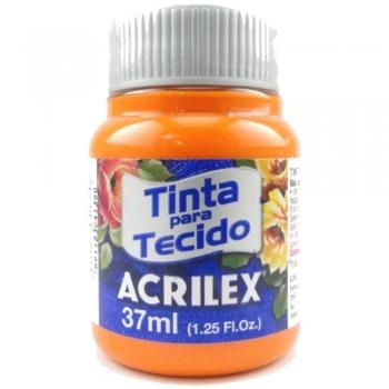TINTA TECIDO FOSCA ACRILEX 37 ML 517 LARANJA