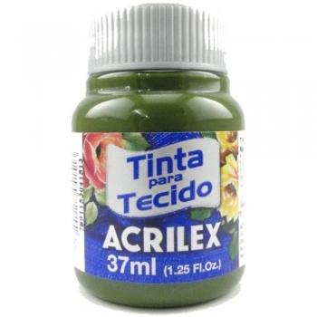 TINTA TECIDO FOSCA ACRILEX 37 ML 545 VD OLIVA