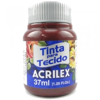 TINTA TECIDO FOSCA ACRILEX 37 ML 565 VINHO