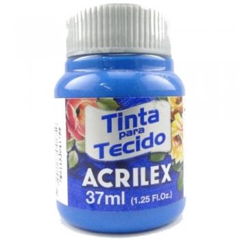 TINTA TECIDO FOSCA ACRILEX 37 ML 568 AZ.CERULIO