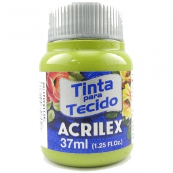TINTA TECIDO FOSCA ACRILEX 37 ML 570 VD PISTACHE