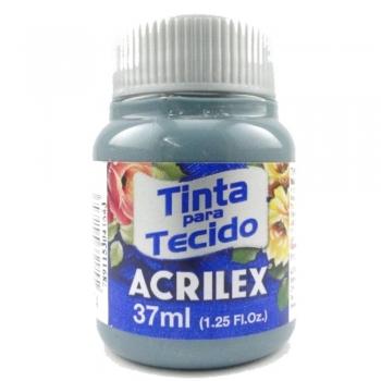 TINTA TECIDO FOSCA ACRILEX 37 ML 574 CINZA LUNAR