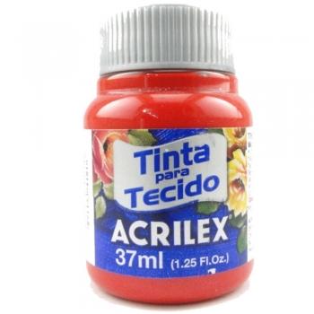 TINTA TECIDO FOSCA ACRILEX 37 ML 583 VERM.TOMATE