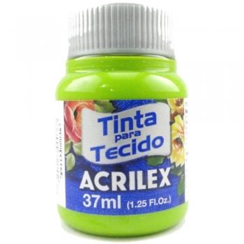 TINTA TECIDO FOSCA ACRILEX 37 ML 802 VERDE MACA