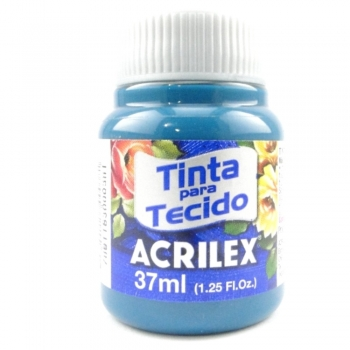 TINTA TECIDO FOSCA ACRILEX 37 ML 803 ACQUA MARINA